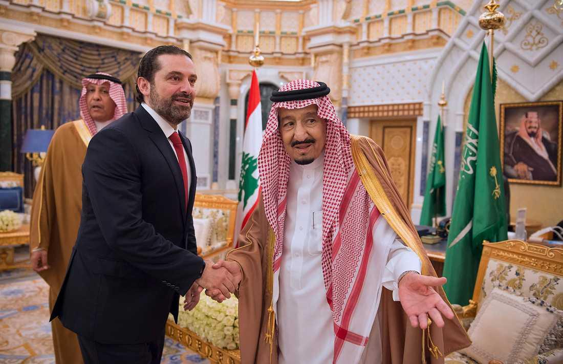 Suadiarabiens kung Salman.