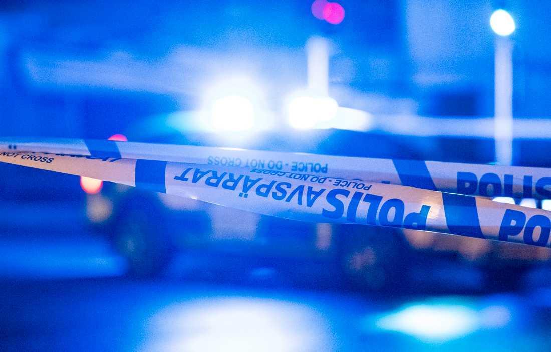 En person har anhållits på sannolika skäl misstänkt för mord i Kalmar. Arkivbild.
