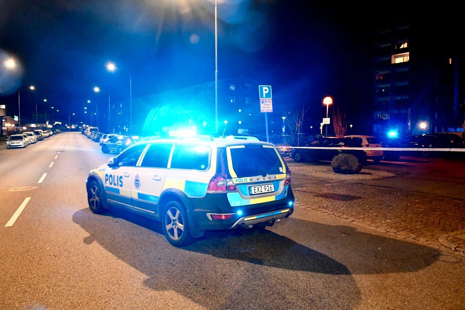 Misstänkt skottlossning i Malmö