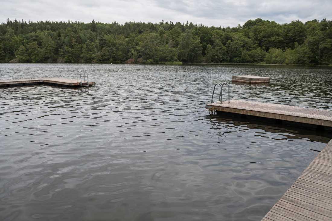 Höga bakteriehalter har upptäckts vid badplatser i Västra Götaland. Arkivbild.