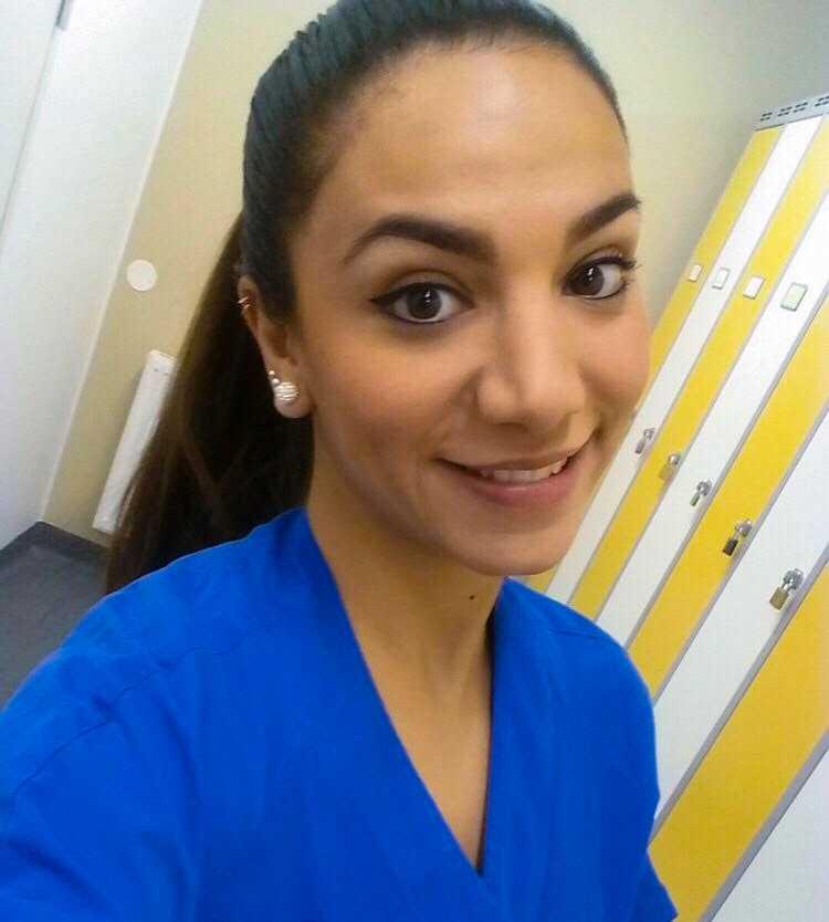 Akutsjuksköterskan Sharzad Hashemi.