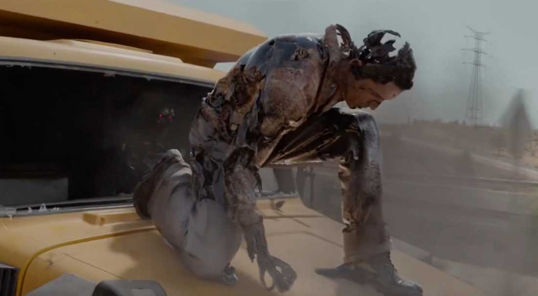 """Terminatorn rekonstruerar sig i """"Terminator: Dark fate""""."""