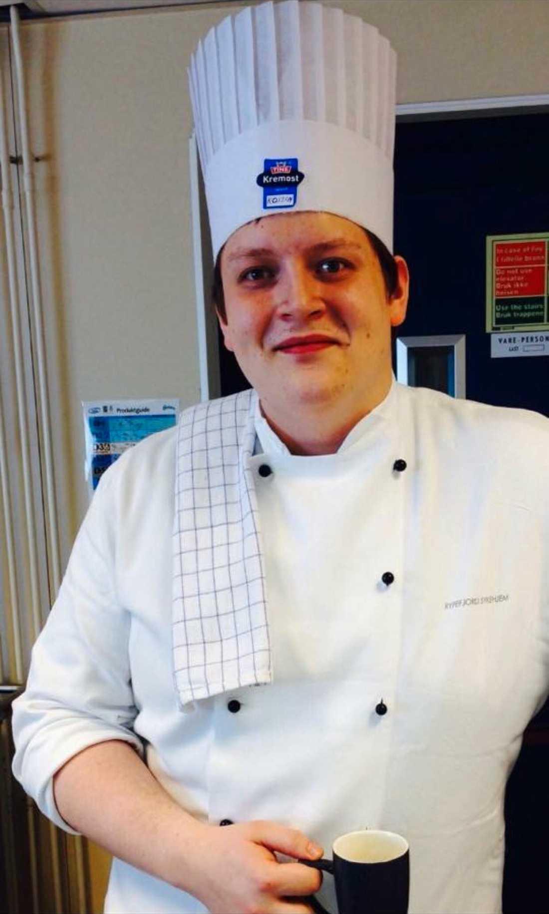 Marius var utbildad kock och hade precis fått nytt jobb när han dog.