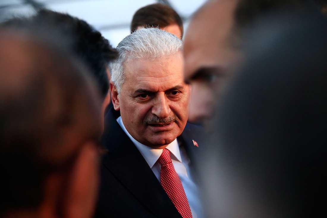 """""""Det kunde ha lyckats"""", säger en rådgivare som jobbar för premiärminister Binali Yildirim (bilden) om kuppförsöket."""