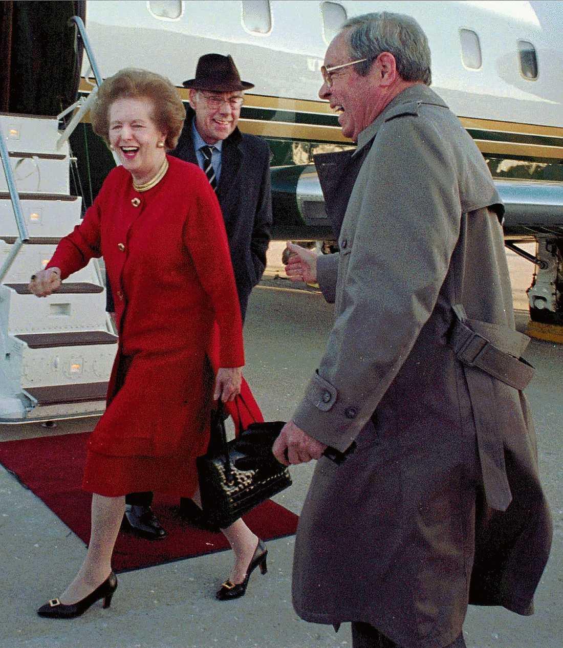 KAN BLI DIN  Järnladyns, Margaret Thatchers, berömda handväska ska säljas på auktion till förmån för välgörande ändamål. Priset väntas bli en miljon kronor.