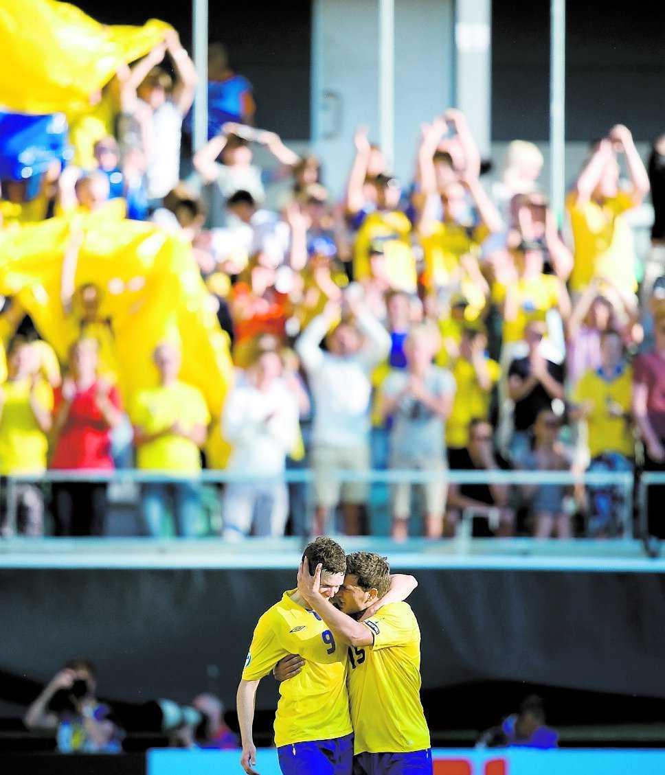 Det svenska U21-landslaget har gått hem i stugorna.