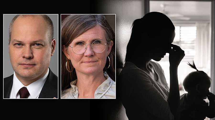 Vi kan idag berätta att ett lagförslag håller på att tas fram om att skärpa minimistraffet för grov kvinnofridskränkning till ett års fängelse. Regeringen kommer att kunna gå till Lagrådet med en  skärpning nu före sommaren, skriver Morgan Johansson och Märta Stenevi.