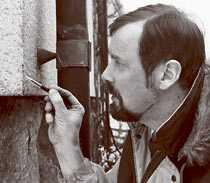 Aftonbladets Lennart Arnstad var alla byggfuskares skräck.