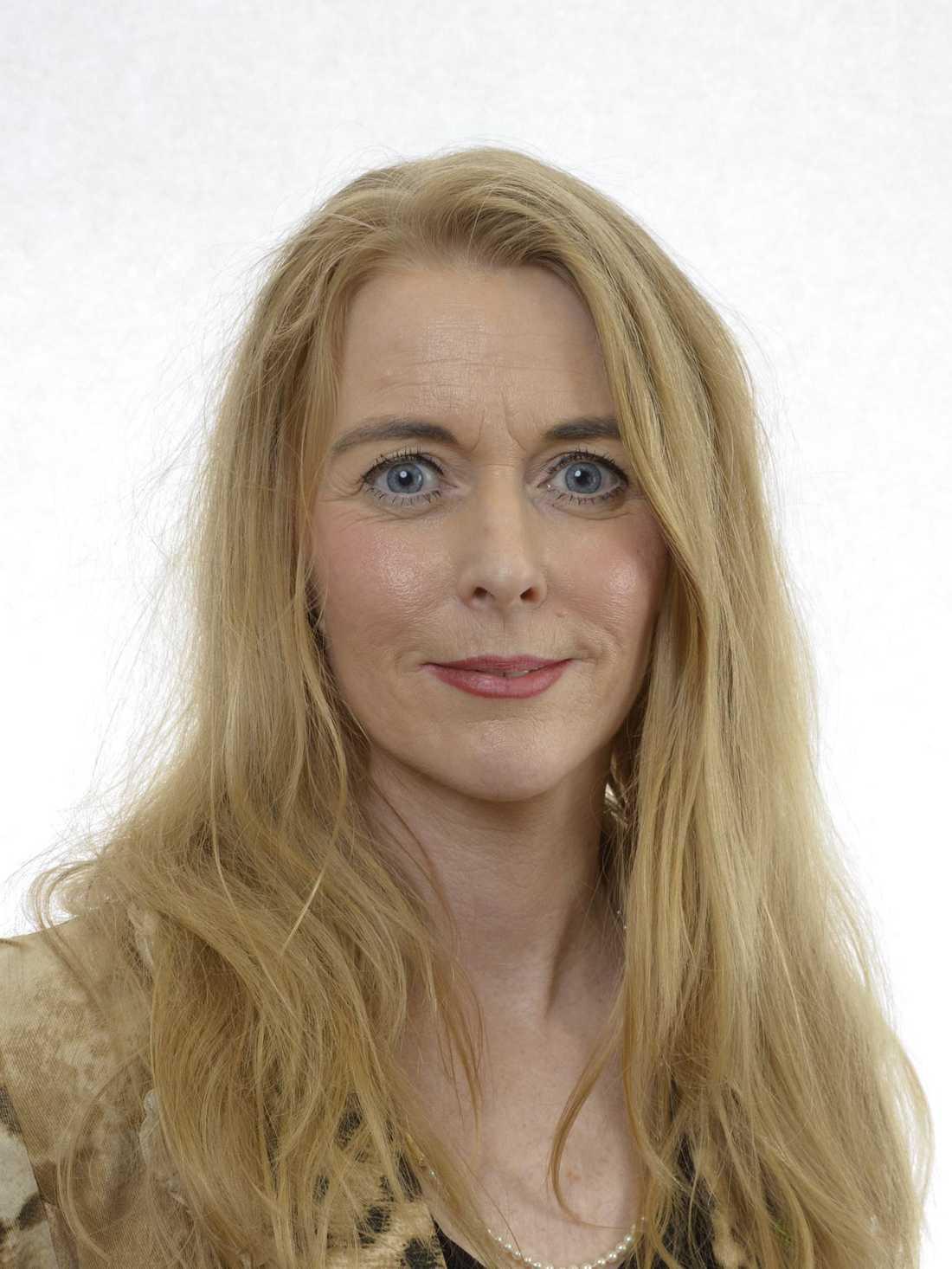 Miljöpartiets utrikespolitiska talesperson Pernilla Stålhammar.