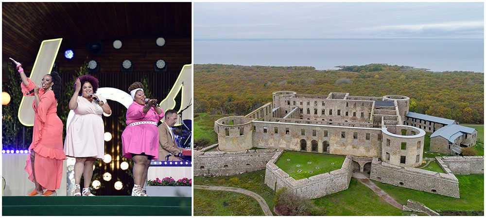 The Mamas uppträder för kronprinsessan Victoria på den tv-sända konserten den 14 juli. Men man har bytt scen, i år sänder man från Borgholms slottsruin istället för idrottsplatsen.