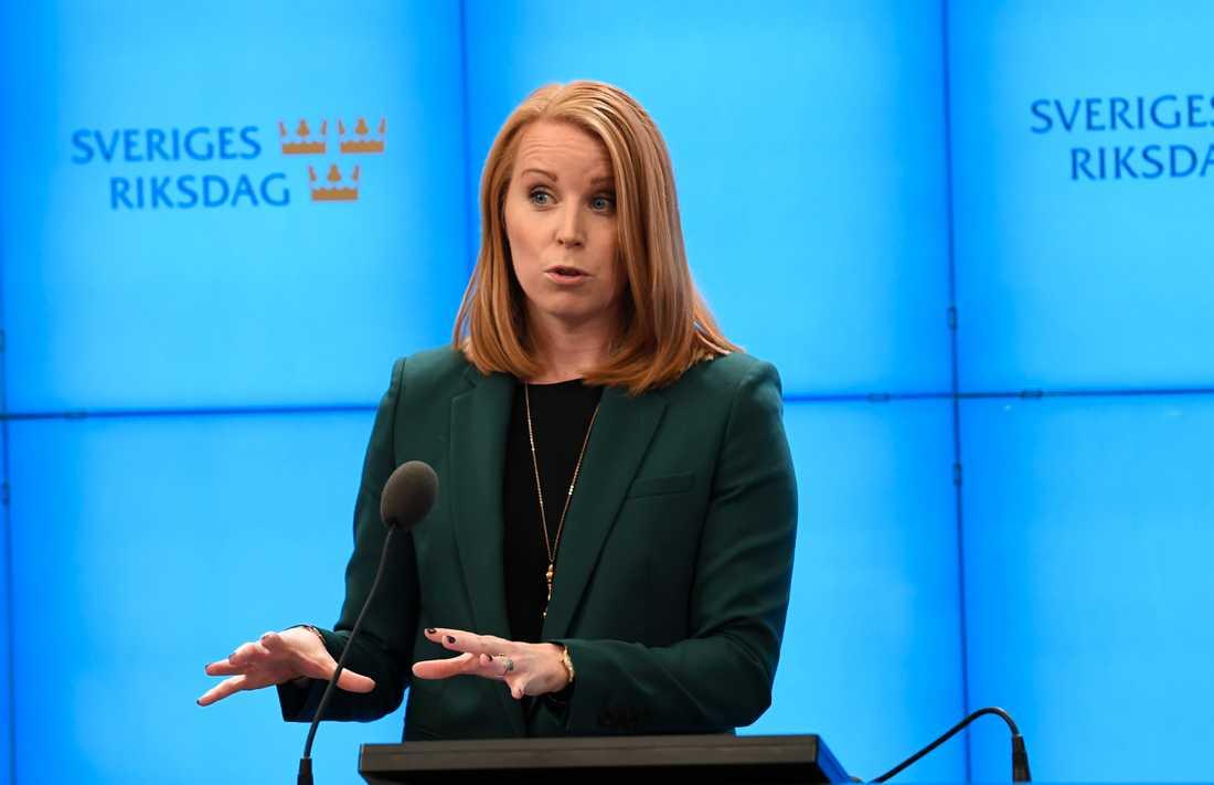 Annie Lööf om regeringsfrågan