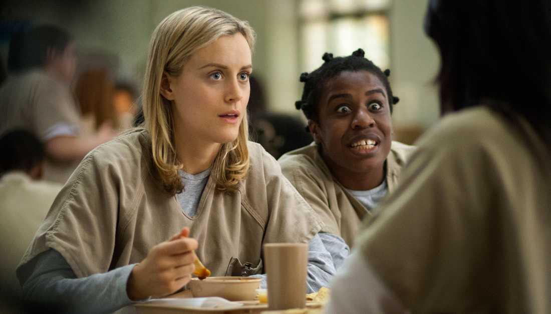 """Piper är huvudkaraktären i """"Orange is the new black""""."""
