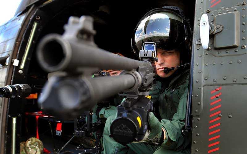 Royal Airforce upprätthåller säkerheten från luften under OS.