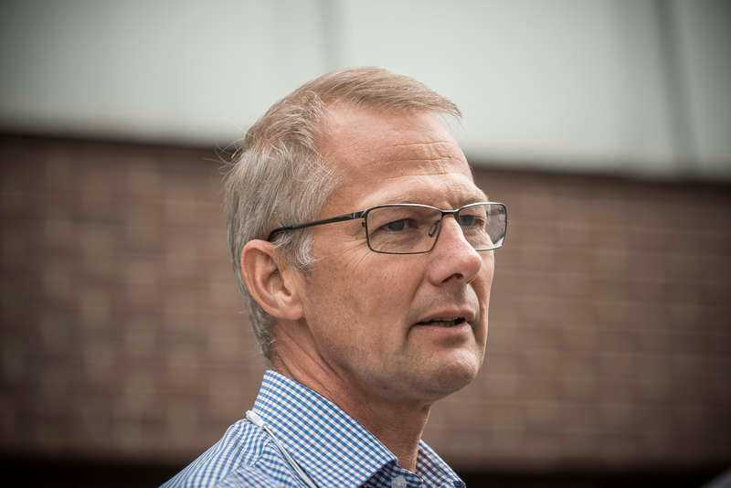 Peder Jonsson, informationschef på Umeåpolisen.