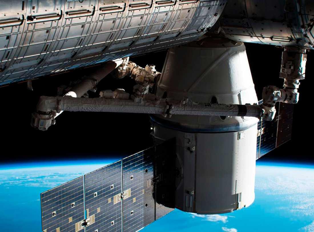En tidigare leverens på ISS.