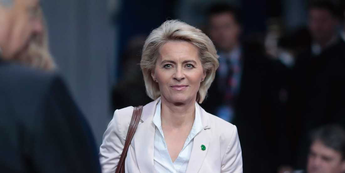 Ursula von der Leyen som nu kan bli ordförande för EU-kommissionen