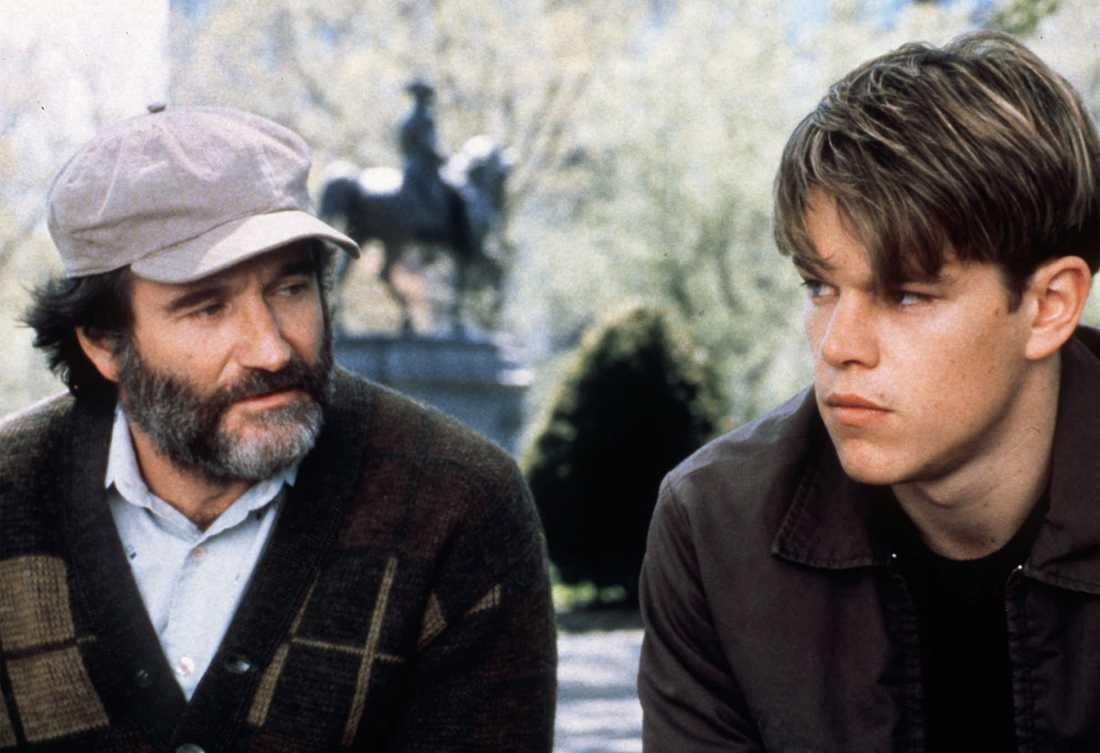 "Williams vann en Oscar för ""Good Will Hunting""."