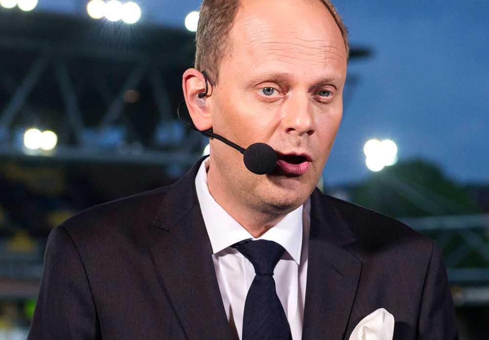 Lasse Granqvist kommenterar matcher under fotbolls-EM
