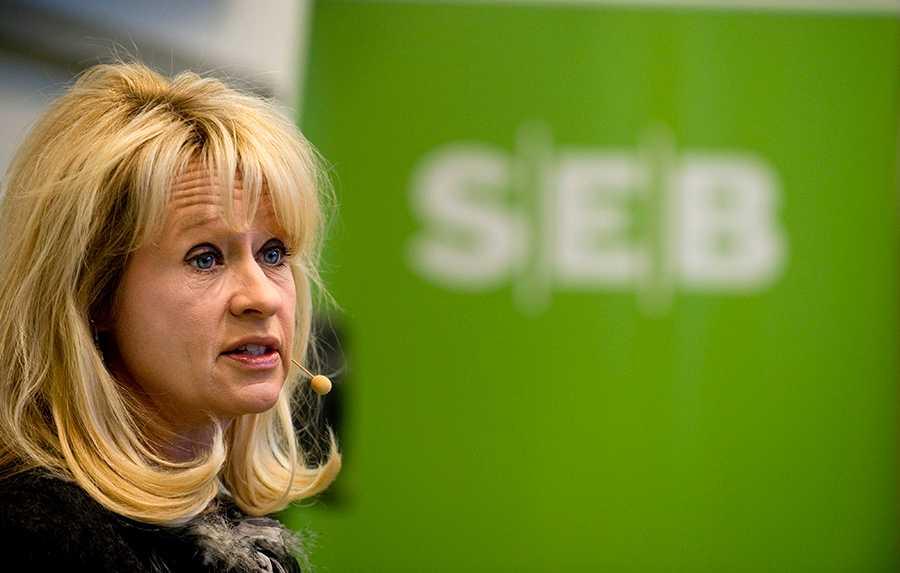 SEB:s vd Annika Falkengren tjänade cirka 29 miljoner kronor 2013.