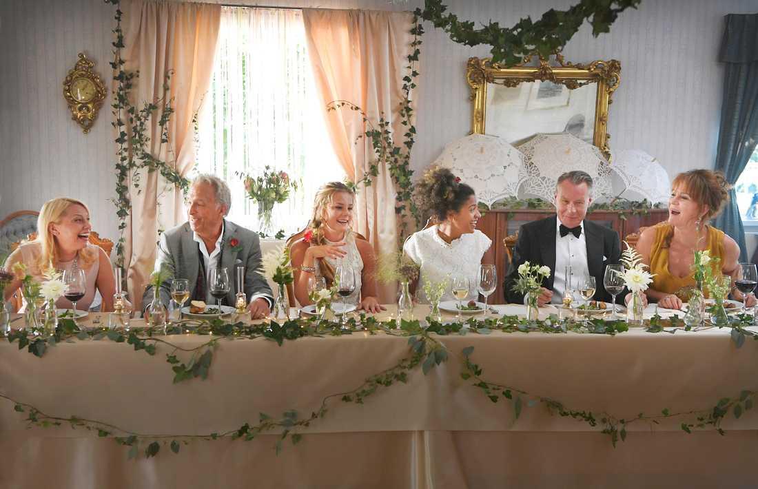 """Inspelning av """"Bröllop, begravning och dop""""."""