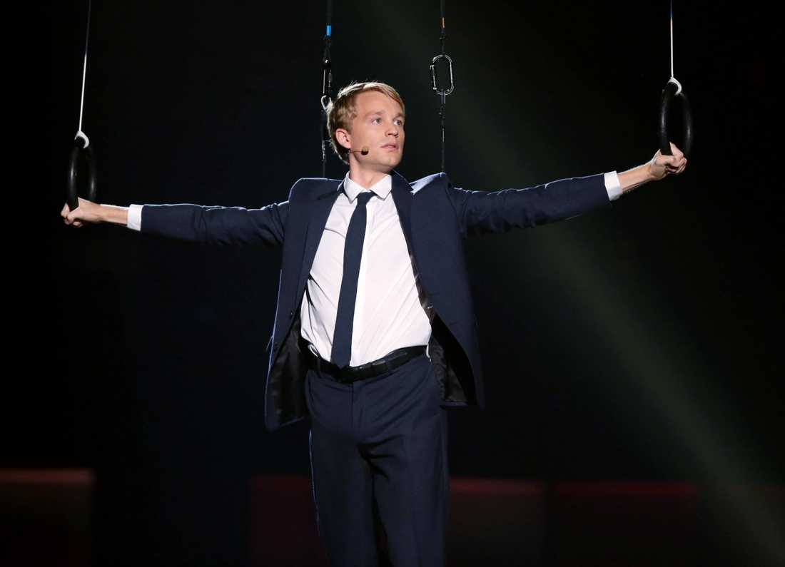 Björn Gustafssons stora genombrott gjordes under Melodifestivalen.
