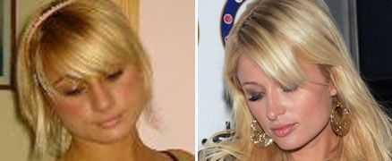 Katica Stanic från Gislaved och Paris Hilton är lika som bär.
