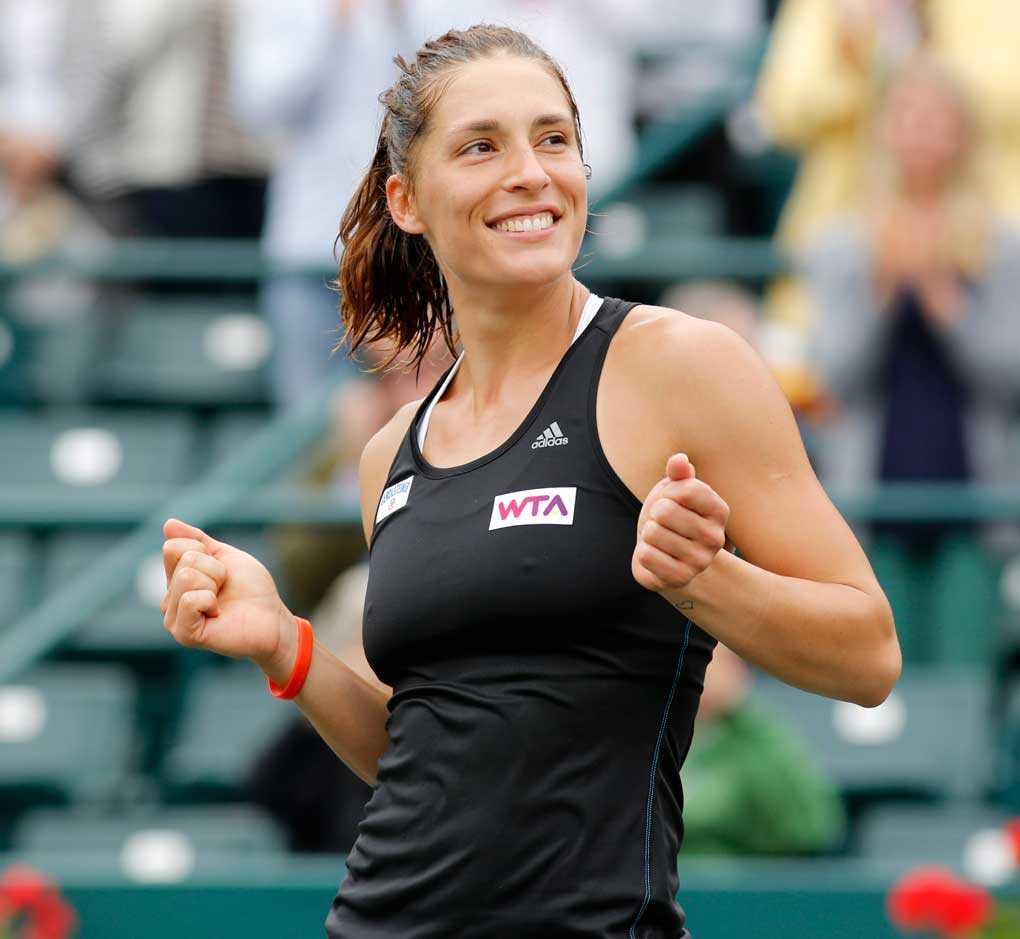 Tyskan Andrea Petkovic vann i Charleston.