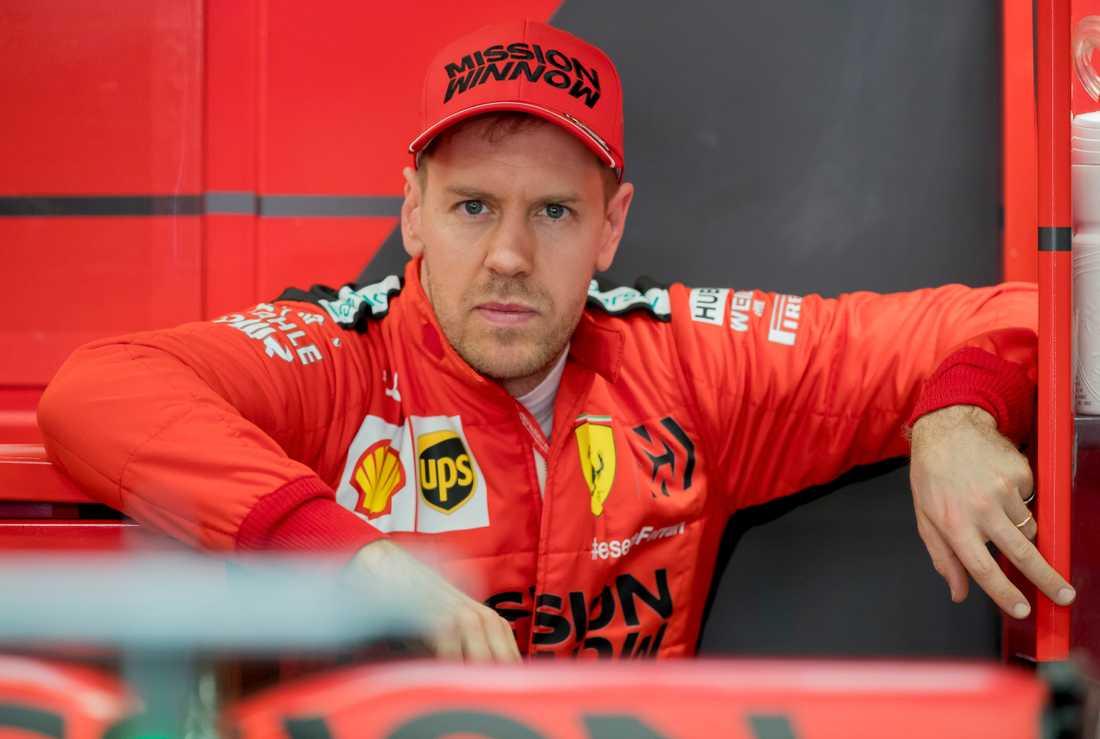 Sebastian Vettel lämnar Ferrari.