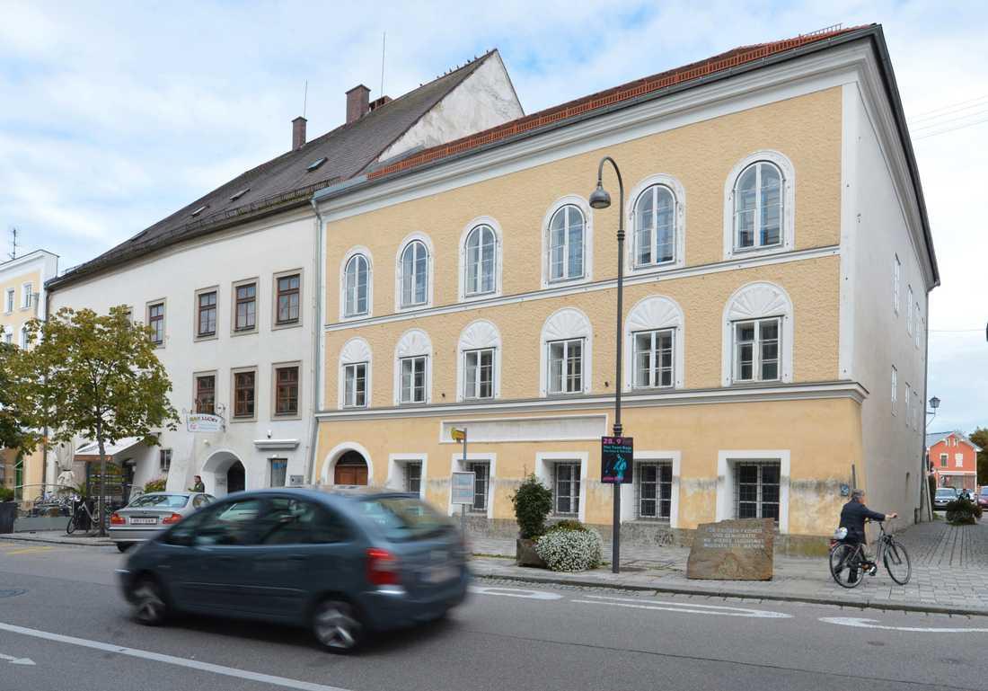 Huset där Adolf Hitler föddes ska bli polisstation. Arkivbild.
