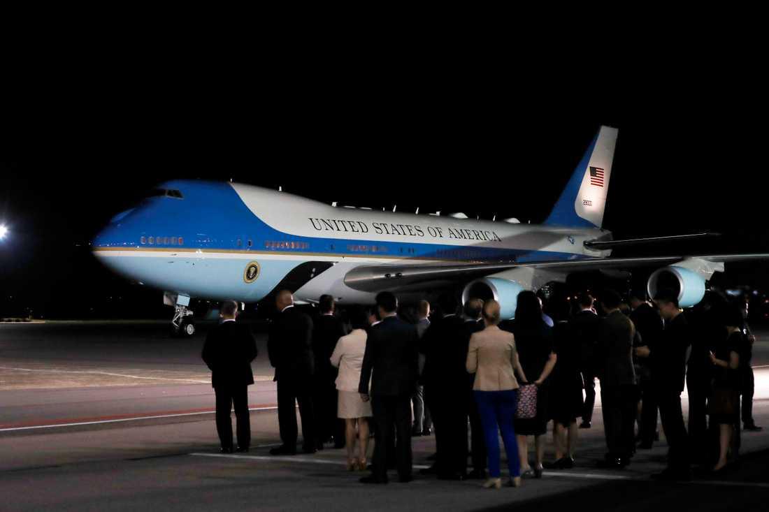 Här landar Trump i Singapore