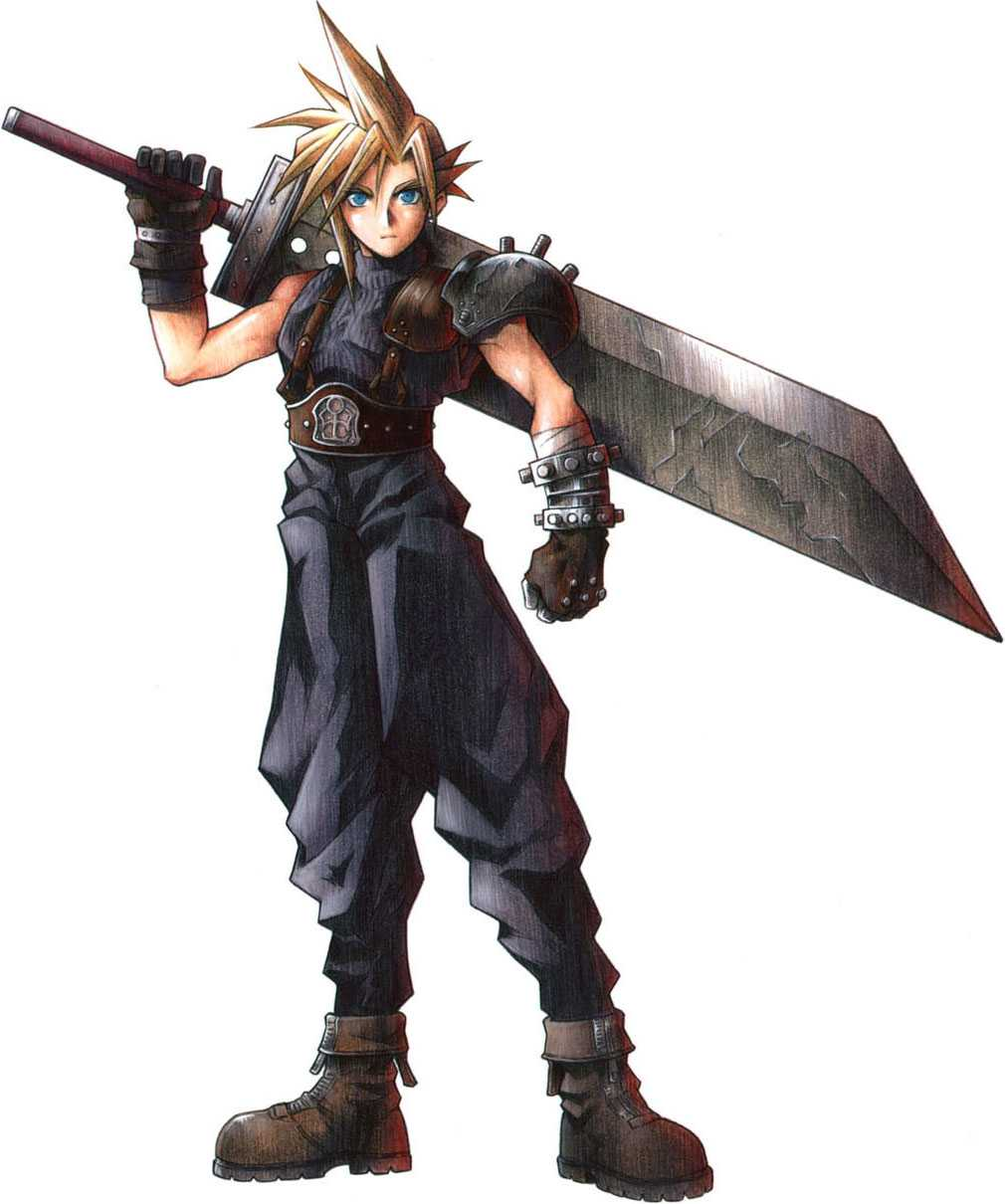 Protagonisten Cloud Strife.