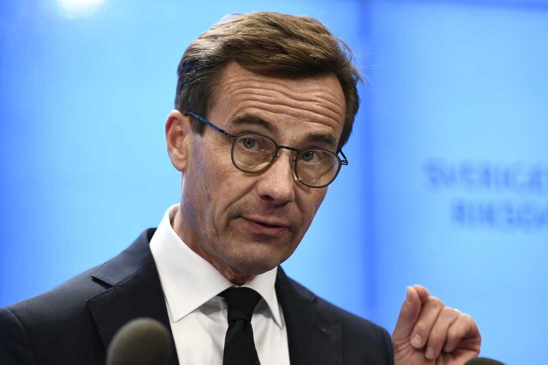 Ulf Kristersson: Jag kommer att acceptera att talmannen till kammaren föreslår mig som statsminister.