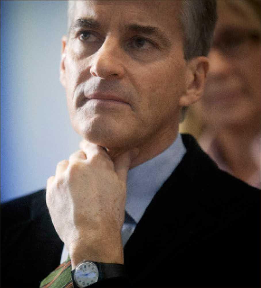 Arbeiderpartiets blivande partiledare Jonas Gahr Støre är i vissa avseenden Stefan Löfvens absoluta motpol.