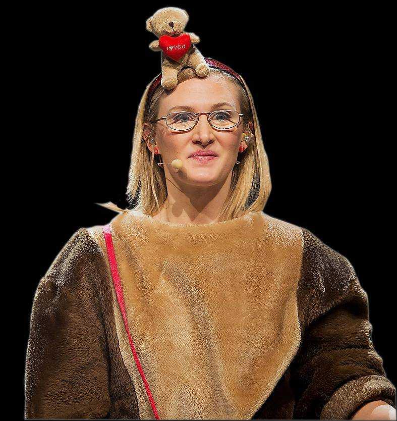 Sissela Benn som Filippa Bark.