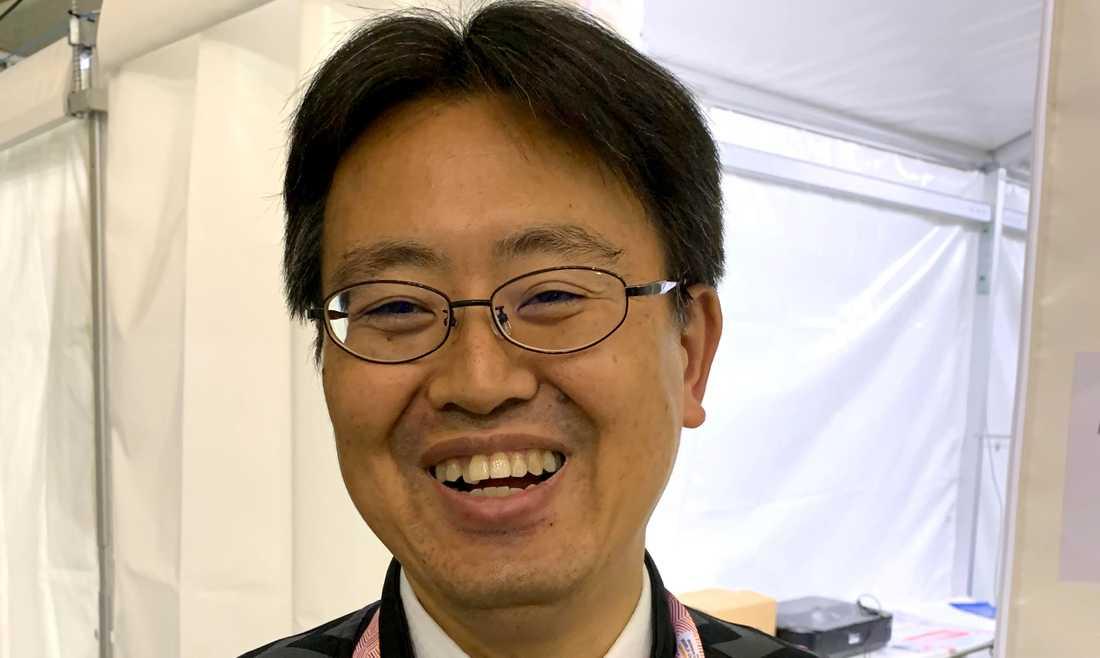Yoichi Osada i VM:s arrangörsstab