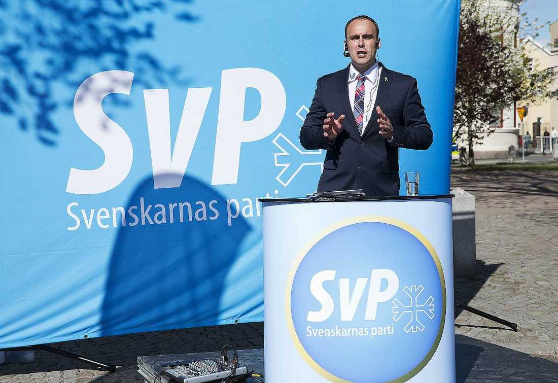 Svenskarnas parti.