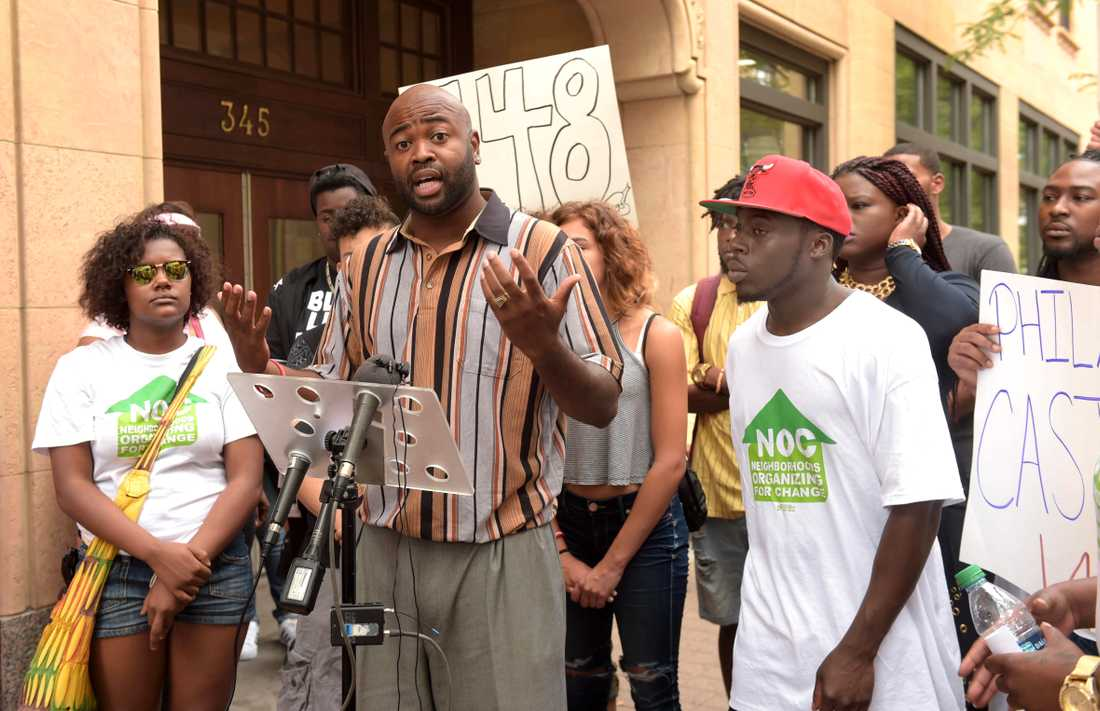 Aktivisten och universitetslektorn Jason Sole fotograferad 2016 då han var ordförande för Minneapolissektionen av medborgarrättsorganisationen NAACP.