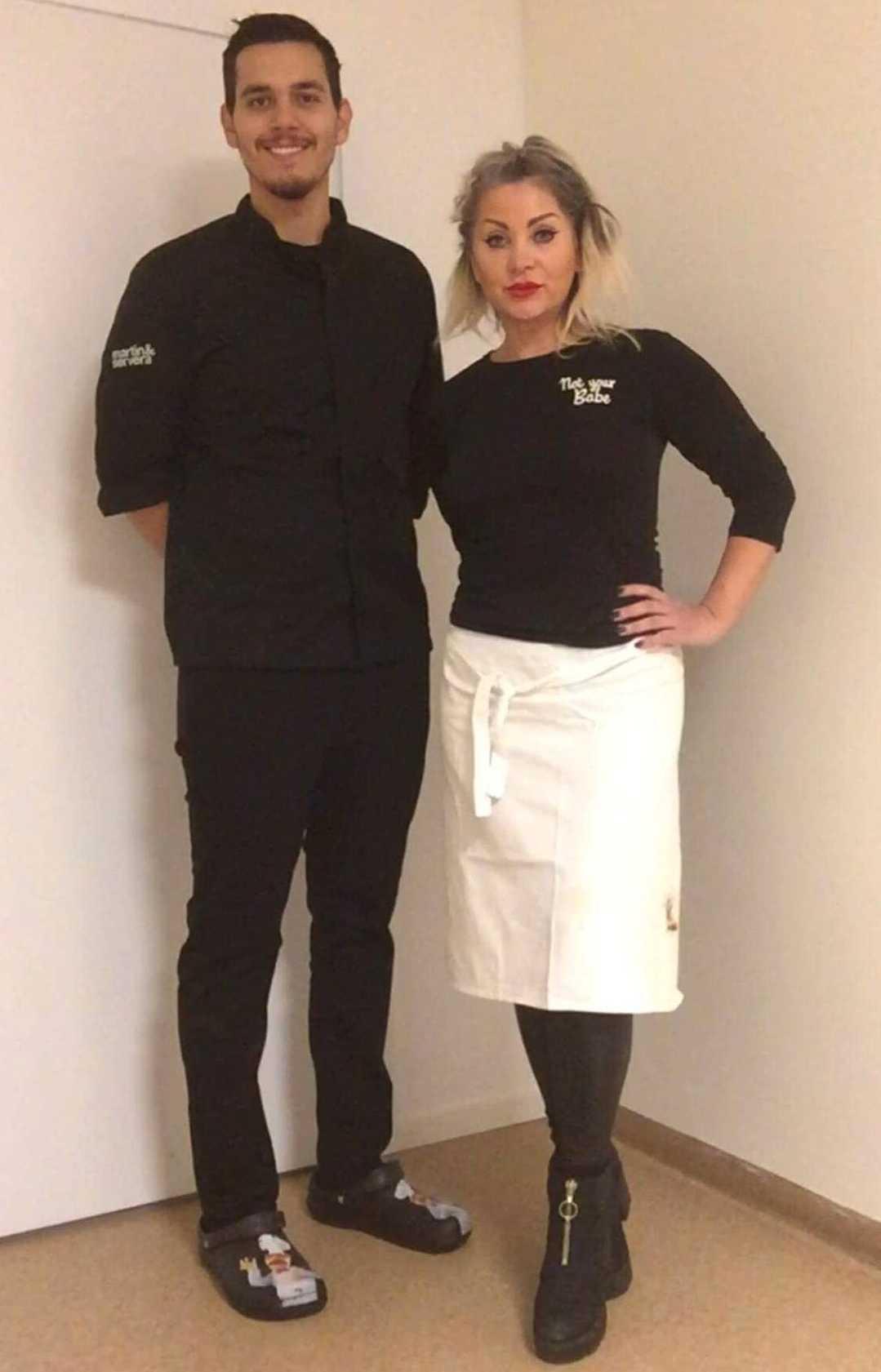 Restaurangens delägare Carlos Ochoa, 32, och vd:n Claudia Gratwohl, 50, hoppas att fler företag ansluter.