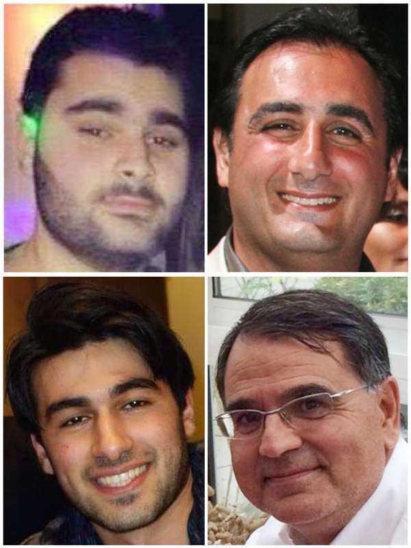 Fyra män sköts till döds i terrorådet mot kosherbutiken i Paris. Yohan Cohen, överst till vänster, Phillipe Braham, Francois-Michel Saada och Yoav Hattab, nederst till höger, mördades alla för att de var judar.
