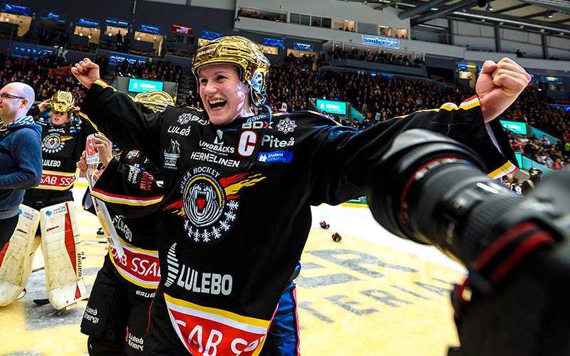 Eliasson firar SM-guldet