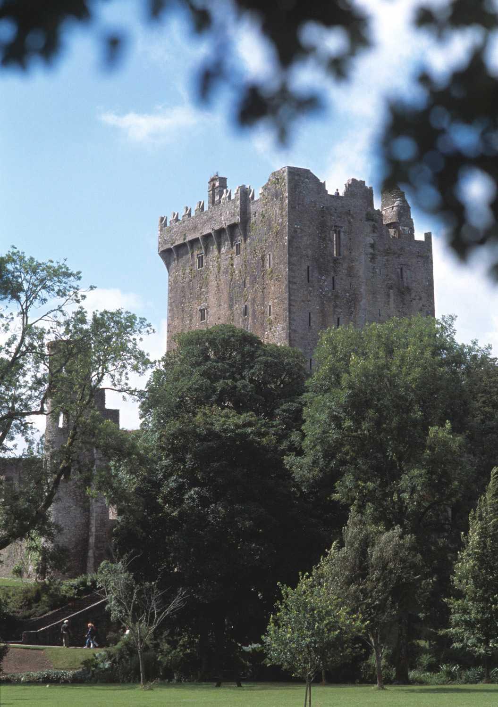 Blarney castle i Cork på Irland –här finns den berömda Blarney-stenen.