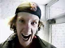 Dylan Klebold har just klivit in genom dörrarna på Columbine High School, fem månader före dådet. Han stannar, spärrar upp ögonen och skriker in i kameran hur han ska lemlästa någon.