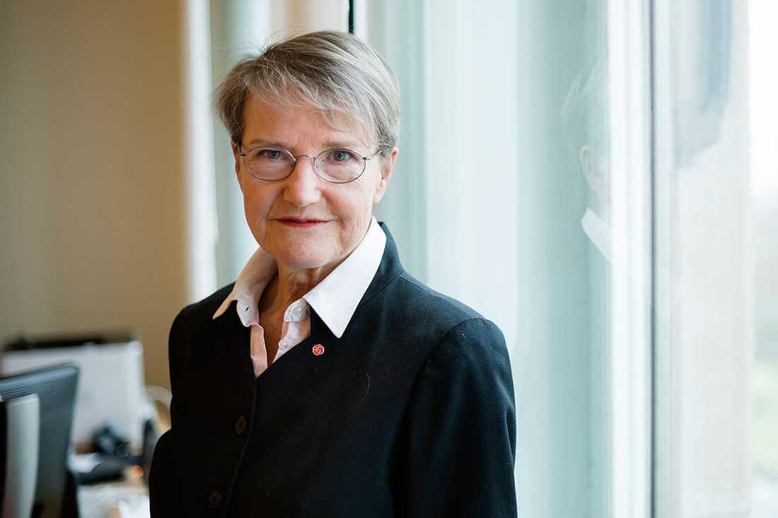 Framtidsminister Kristina Persson.