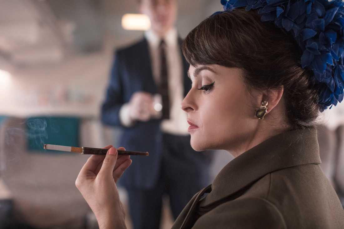 Helena Bonham Carter tar över rollen som prinsessan Margaret. Pressbild.