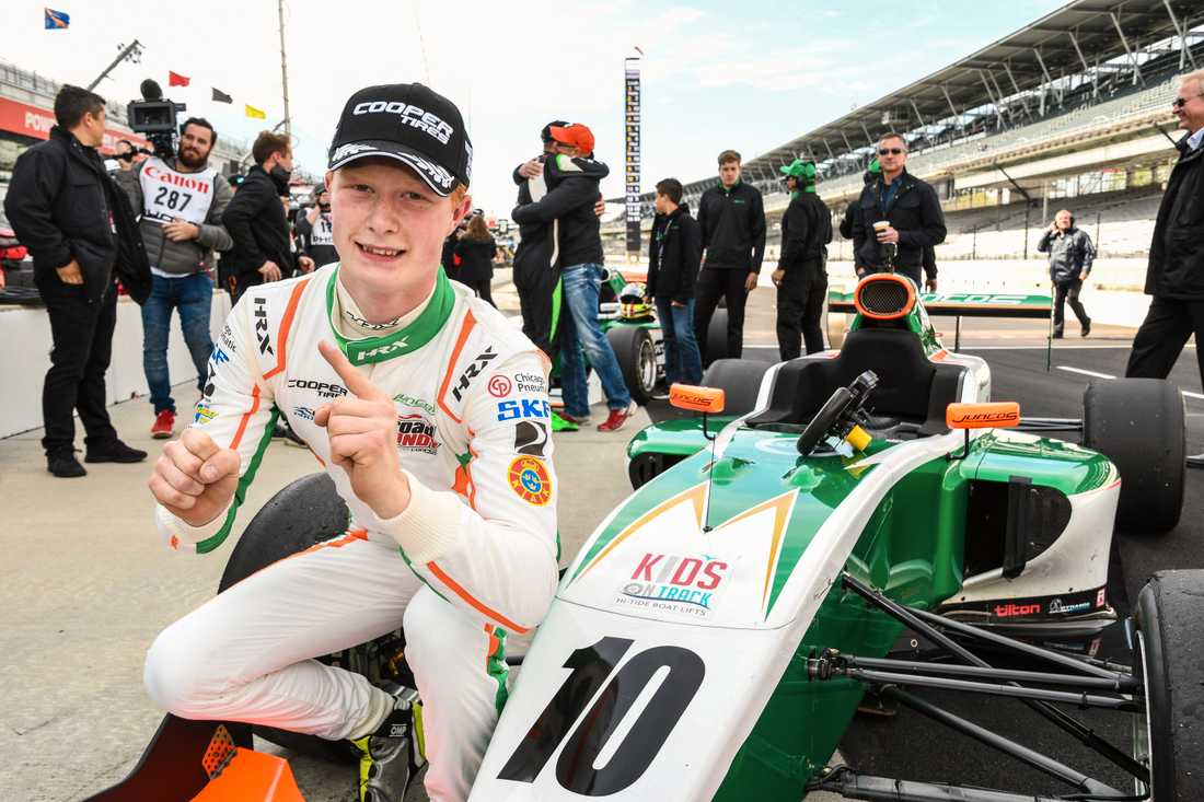 Rasmus Lindh satsar mot IndyCar, imponerar i Indy Pro 2000