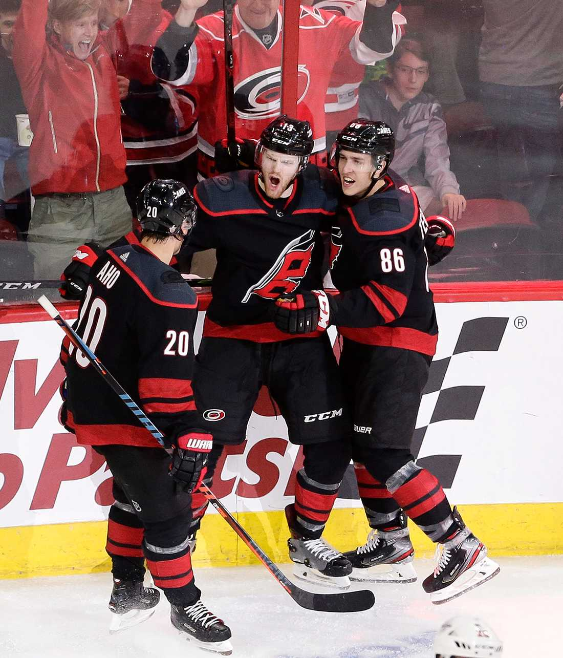 Carolina Hurricanes utklassade Washington Capitals med 5–0