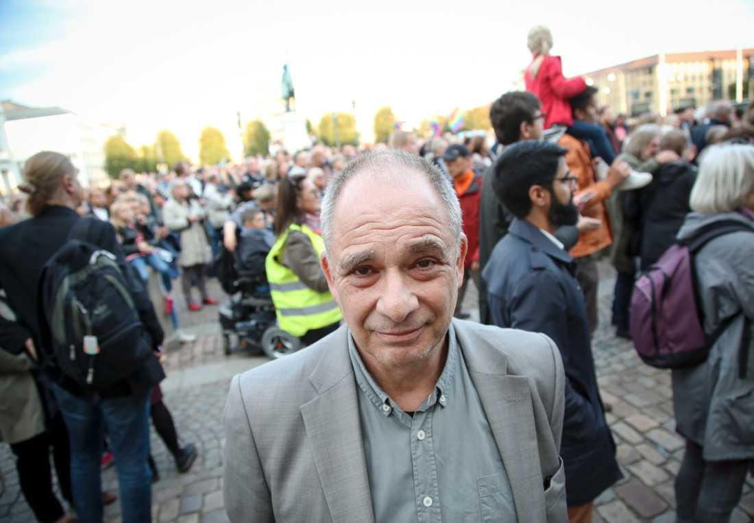 Allan Stutzinsky, ordförande judiska församlingen i Göteborg.