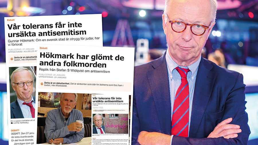 Stefan S Widqvists replik visar på min tes – att allt för många i dag relativiserar antisemitismen, skriver Gunnar Hökmark.