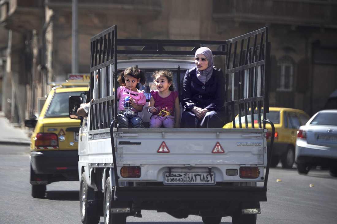 Vardagslivet i Homs