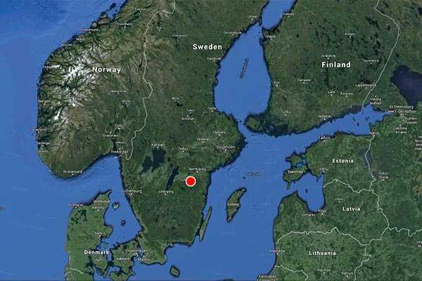 Olyckan inträffade i närheten av Brokind söder om Linköping.